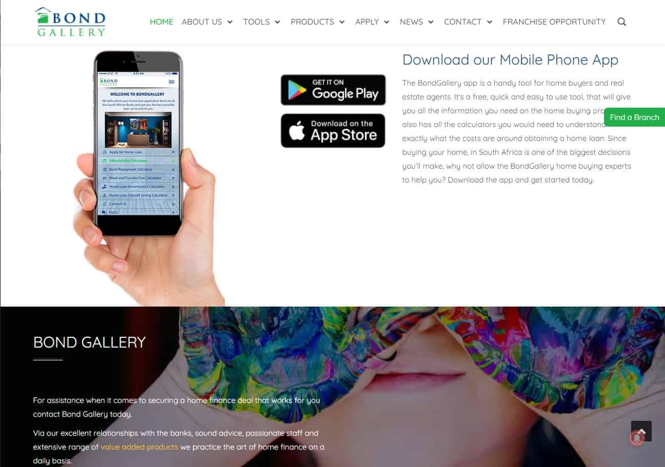 Bond Gallery Website