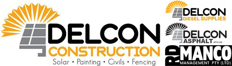 Delcon Construction Group of Companies Logo