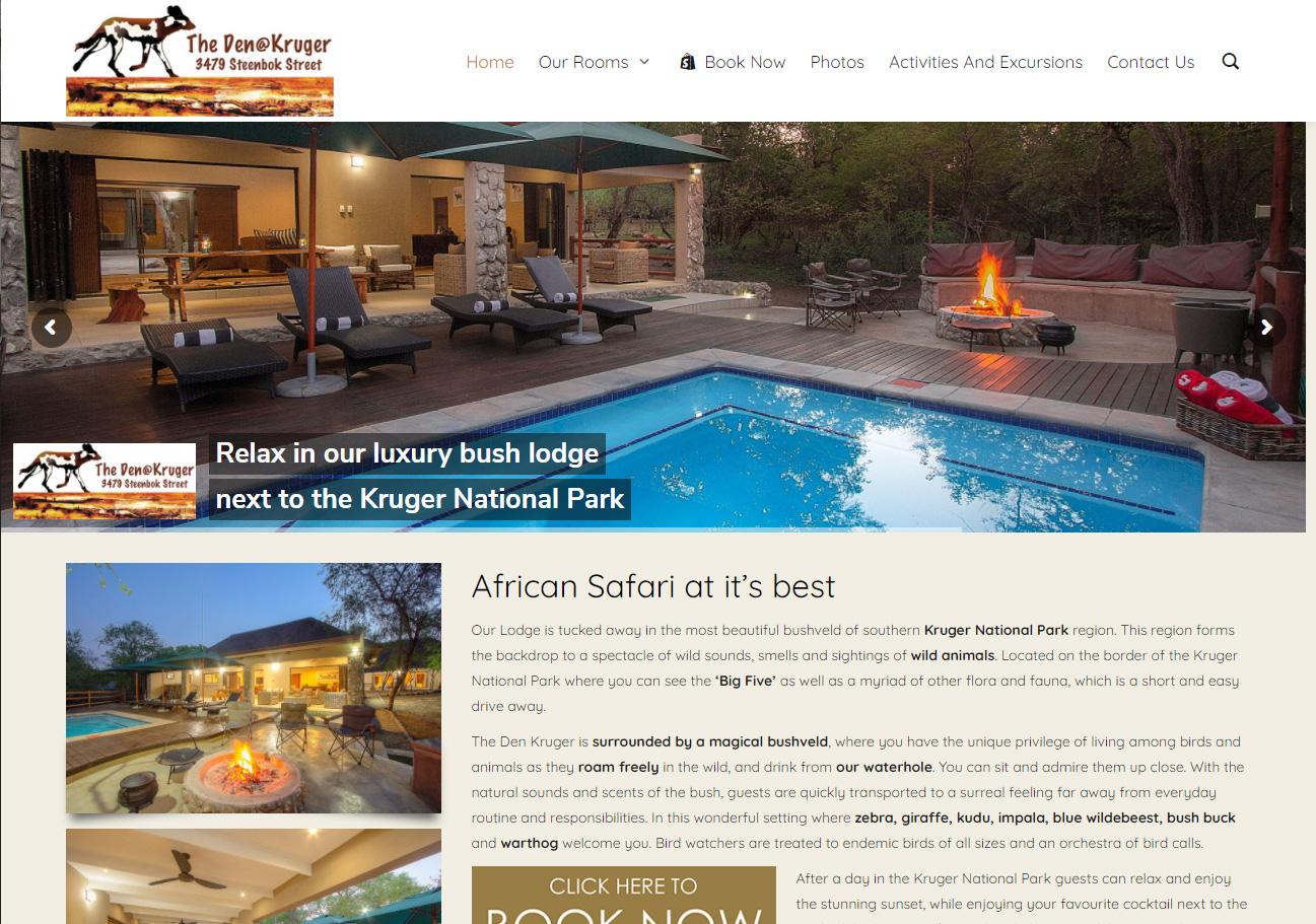 The Den Kruger Website