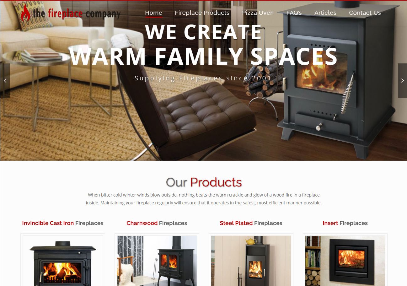 The FirePlace Company Website